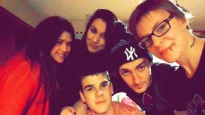 Déborah, moi, Moustik, Alexandre, Emilie